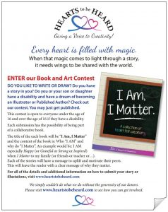 Hearts to be Heard Book Contest